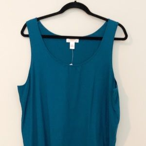 NWT Talbots Dress Tank Top.  Sz 3XL